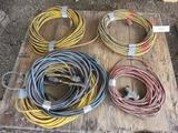 PALLET OF ASSORTED EXTENSION CORDS