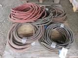 PALLET OF ASSORTED SIZE AIR HOSE