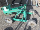 GREENLEE 00870 WHEEL CARRIAGE W/PIPE ADOPTER ATTACHMENT