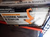 CENTRAL PNEUMATIC FLOORING NAILER & STAPLER MDL#: 99640 W/ ATTACHMENTS
