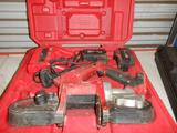 MILWAUKEE M18 BAND SAW W/CHARGER & (2) BATTERIES