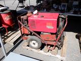LINCOLN ELECTRIC DC-225/3-AS GAS POWERED ARC WELDER W/AUXILIARY AC POWER, *MANUAL IN OFFICE