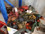 BOX OF ASSORTED SAFETY HARNESSES