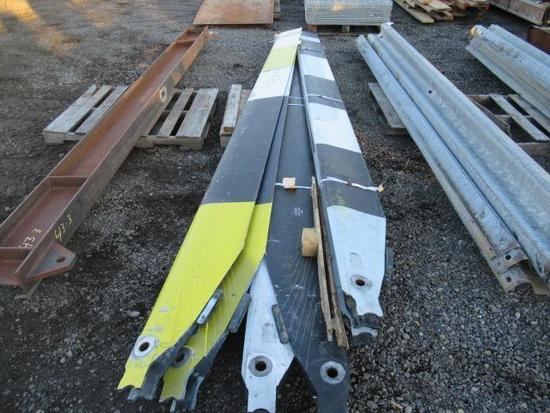 (3) PAIRS OF BELL HELICOPTER BLADES