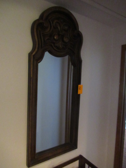 MIRROR W/ WOODEN FRAME