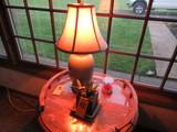 LAMP & SMALL PLANT