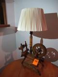 VINTAGE SEWING MACHINE LAMP