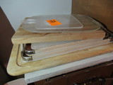 LOT OF CUTTING BOARDS