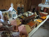 LOT OF ASSORTED DECOR - MOSTLY WOODEN