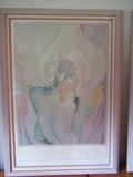 FRAMED LIGHT IRIS, 1924 ARTWORK