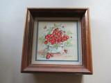 FRAMED STRAWBERRIES ARTWORK