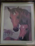 FRAMED HORSE ARTWORK
