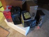 LOT OF ASSORTED COOLERS & VINTAGE LUGGAGE