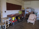 CONTENTS OF CORNER OF GARAGE (BUYER CAN TAKE WHAT THEY WANT & LEAVE THE RES