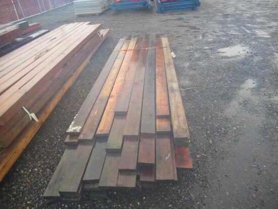 (40) ASSORTED 2'' X 6'' BOARDS