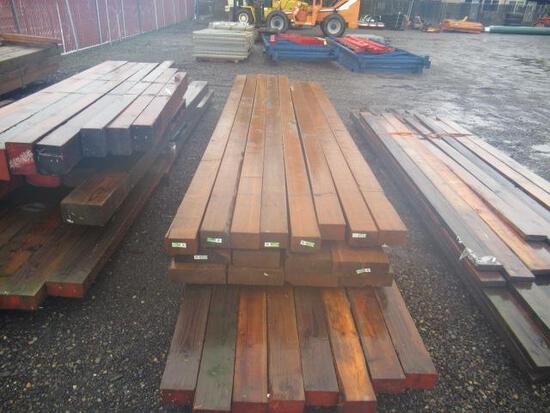 (24) ASSORTED BEAMS