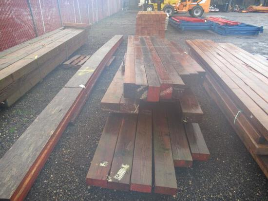 (19) ASSORTED BEAMS