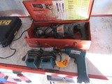 MAKITA 10 MM CORDLESS DRILL 6010D & (2) BATTERY CHARGERS, BLACK & DECKER 2