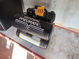 CENTRAL PNEUMATIC 115 PSI AIR COMPRESSOR, 2.4 H.P TWIN TANK