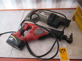 SKIL 9350 RECIPROCATING SAW 18V BATTERY & ORBITAL ACTION RECIPROCATING SAW