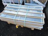 (33) PIECES OF DECORATIVE S/L GLASS
