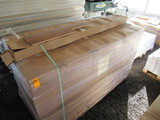 (45) BOXES OF PREFINISHED SOLID RED OAK HARDWOOD FLOORING 3/4'' X 3 1/4'',