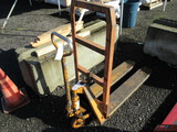 BLUE GIANT PALLET JACK, 5000# CAPACITY