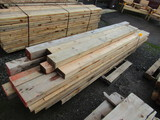 LOT OF ASSORTED SIZE & STYLE BEAMS