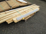 LOT OF ASSORTED SIZE PINE LUMBER