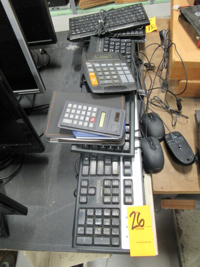 ASSORTED COMPUTER KEYBOARDS