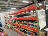 PALLET RACKING - (3) 40'' X 8'6'' UPRIGHTS & (16) 12' CROSSARMS