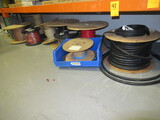 CONTENTS OF SHELF - ASSORTED WIRE