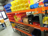 CONTENTS OF (3) SHELVES - ASSORTED SIZE PARTS BINS