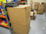 (2) BOXES W/ASSORTED FOAM PACKING MATERIAL