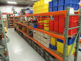 PALLET RACKING - (4) 24'' X 6' UPRIGHTS & (18) 8' CROSSARMS