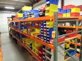 PALLET RACKING - (4) 48'' X 6' UPRIGHTS & (18) 8' CROSSARMS