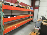PALLET RACKING - (2) 24'' X 6' UPRIGHTS & (6) 12' CROSSARMS