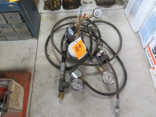 Asst pressure gauges