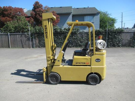 HYSTER S50F FORKLIFT