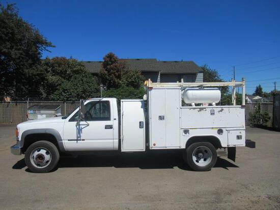 2000 GMC 3500HD UTILITY SERVICE TRUCK