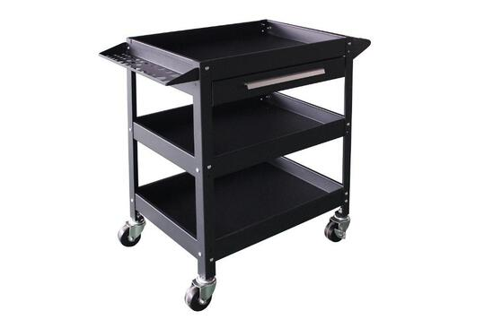3 TIER ROLLING TOOL SERVICE CART (UNUSED IN BOX)