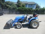 NEW HOLLAND TC24D 4X4 TRACTOR W/ FRONT LOADER