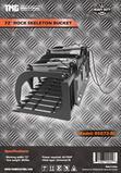 72'' SKID STEER SKELETON GRAPPLE W/ (2) HYDRAULIC CYLINDERS