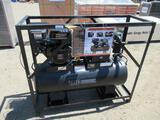 40 GALLON 2-STAGE 9 HP ENGINE AIR COMPRESSOR