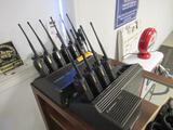 (10) MOTOROLA XTS3000 UHF TWO WAY RADIOS W/ CHARGING STATIONS & CORDED MICROPHONES