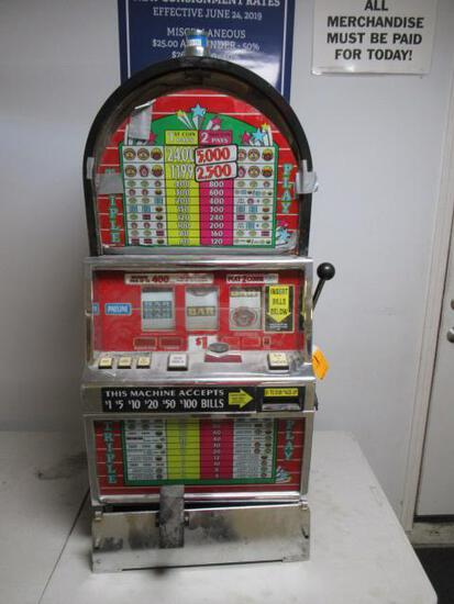 IGT B4939CFIW SLOT MACHINE (CONVERTED TO TOKENS)