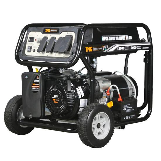 12,000 WATT GAS POWERED GENERATOR