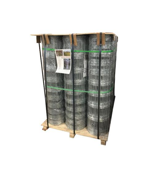 (12) ROLLS OF 48'' X 330' 12 GAUGE FARM / FIELD FENCE