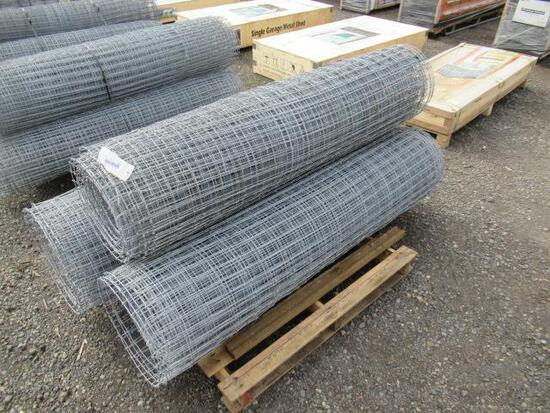 (3) ROLLS OF FIELD FENCE