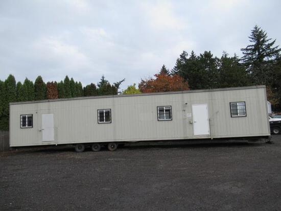 1997 MODERN BUILDING SYSTEMS 12' X 60' OFFICE TRAILER